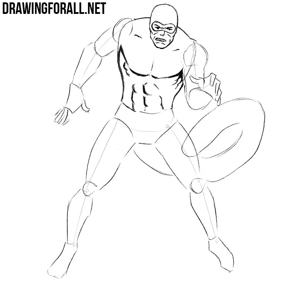 how to draw Scorpion from spider-man