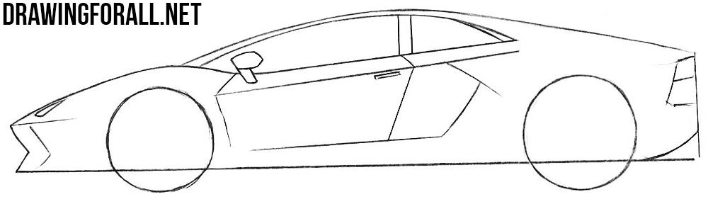 learn to draw sports cars