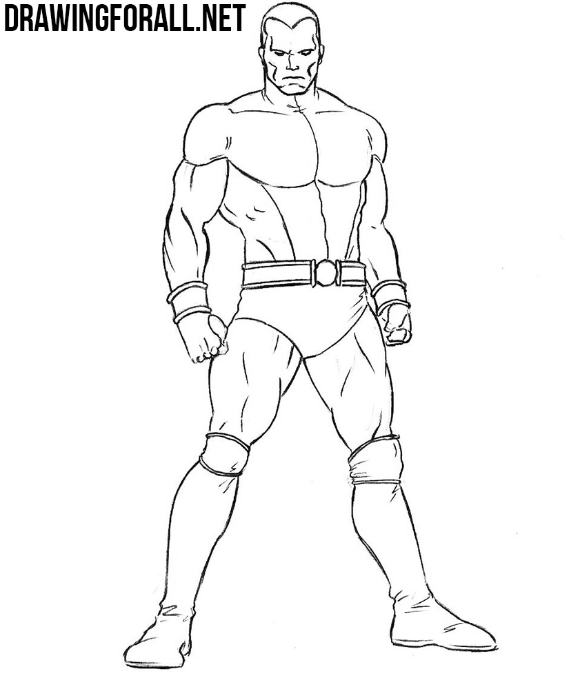 Colossus drawing tutorial
