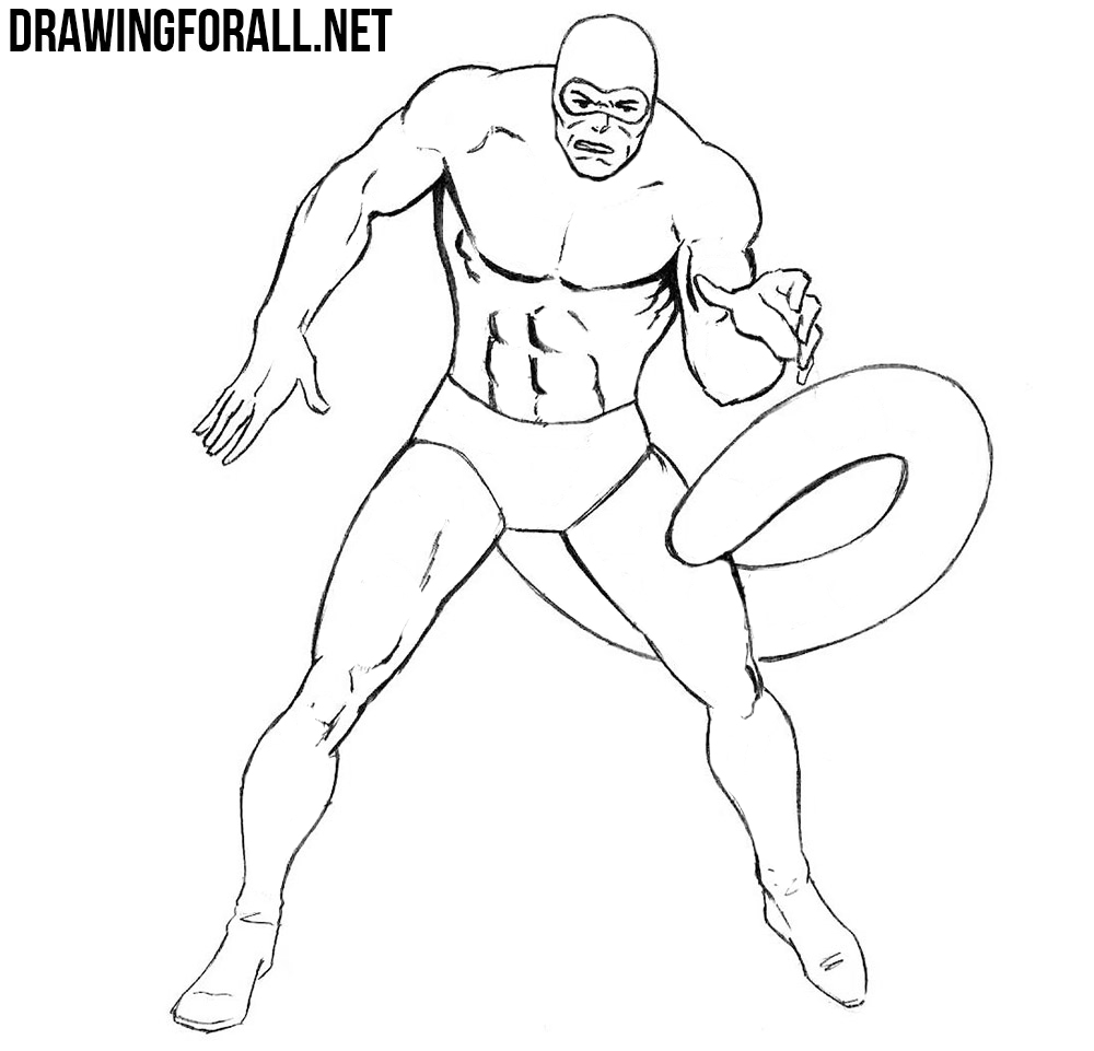 learn to draw Scorpion from marvel