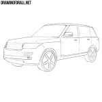 How to Draw a Range Rover