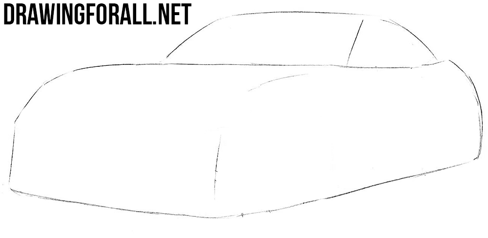 how to draw a Miata
