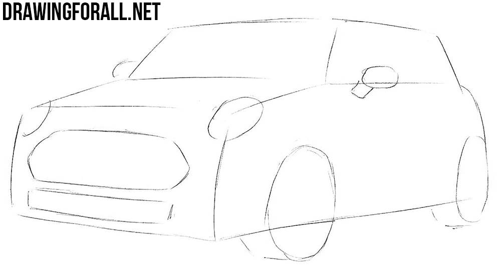 how to draw a mini