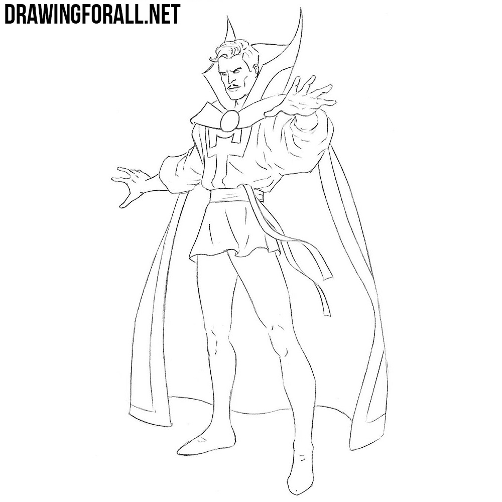 How to Draw Doctor Strange