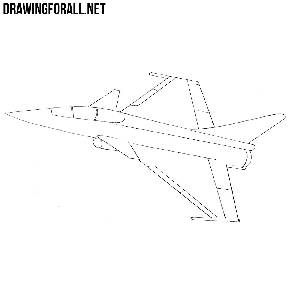 How To Draw A Fighter Jet Drawingforall Net