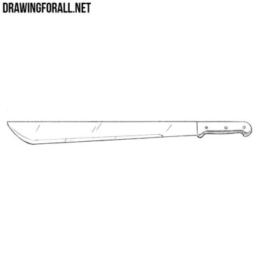 How to Draw a Machete