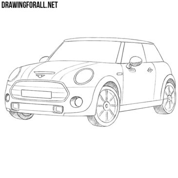 How to Draw a Mini Cooper