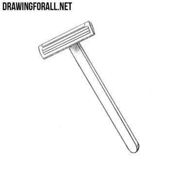 How to Draw a Razor