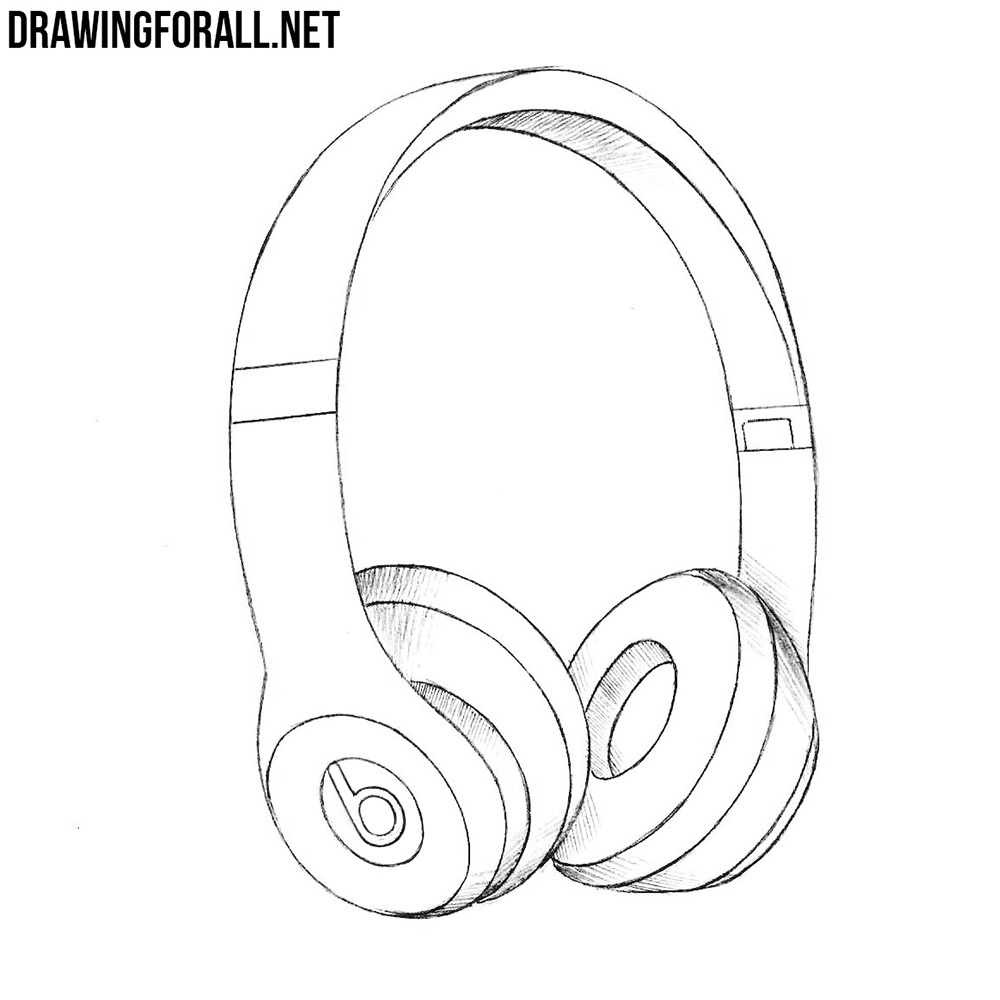 How to Draw Beats Headphones | DrawingForAll.net