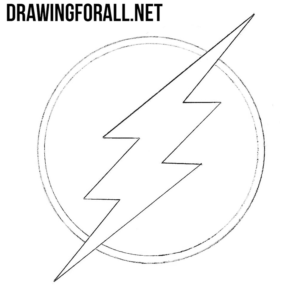 How to Draw the Flash Logo