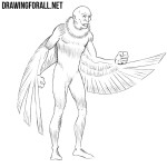 How to Draw Vulture from Marvel