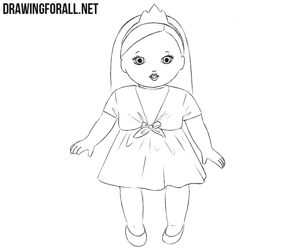 doll drawing