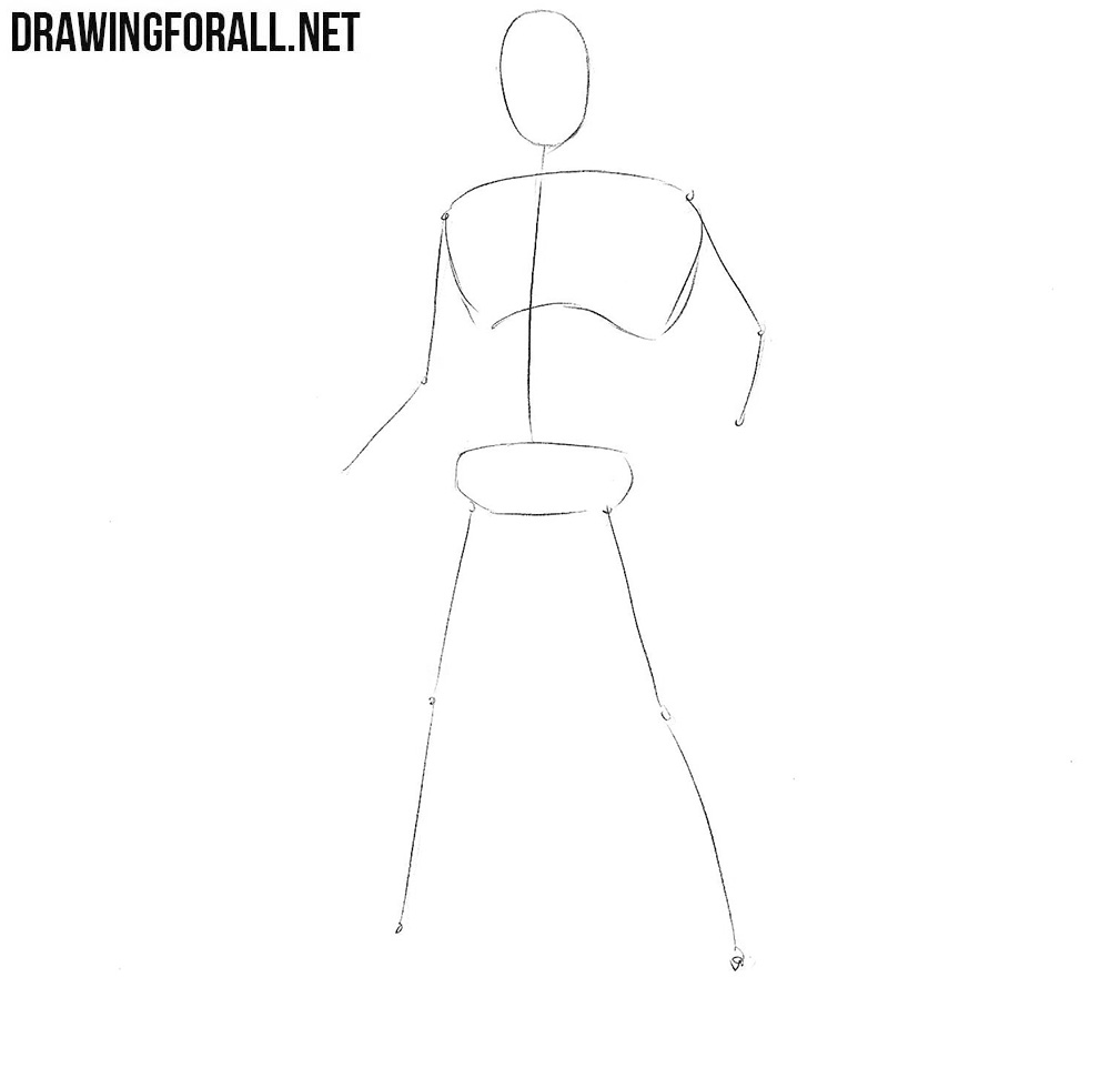 how to draw Luke Cage