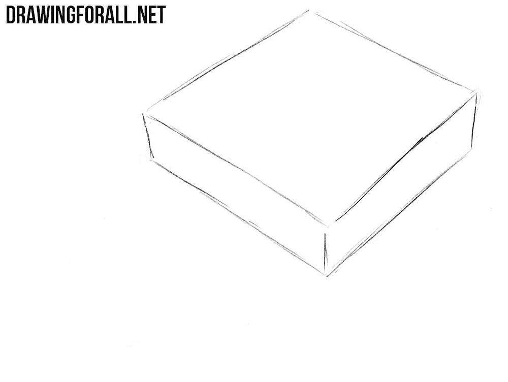 how to draw a Super Nintendo