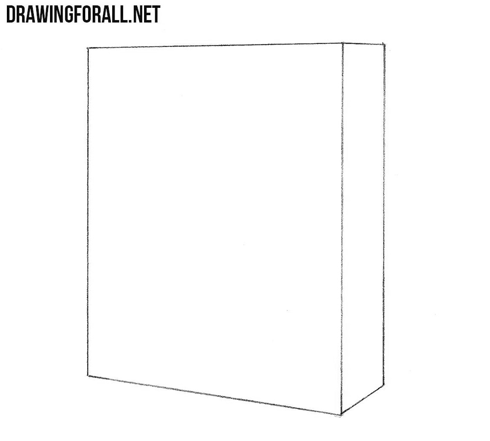 2 How to draw a Cupboard step by step