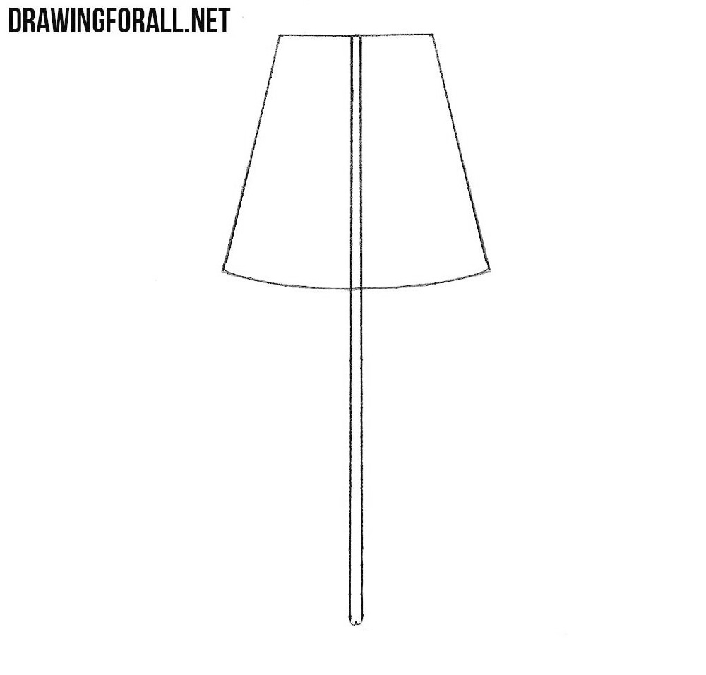 How to draw a lamp drawingforall desk lamp drawing aloadofball Choice Image
