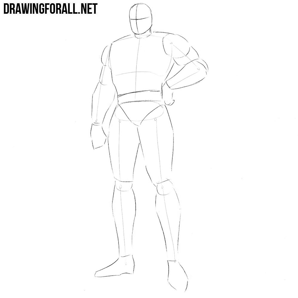 how to draw Bishop from x men