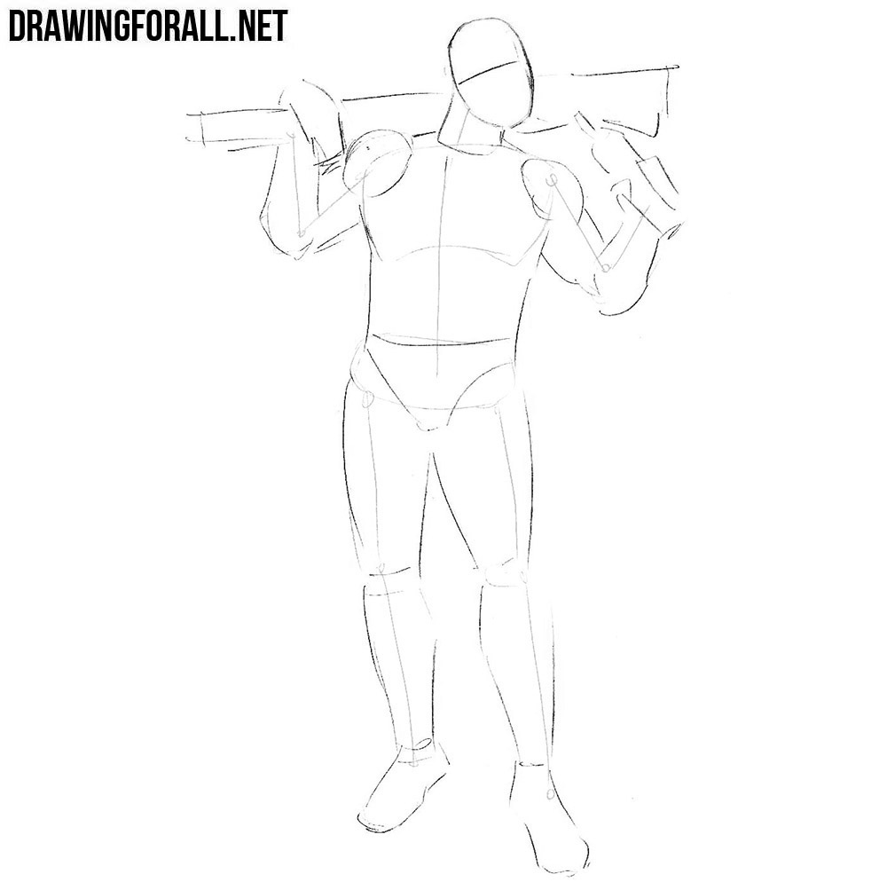 how to draw The Comedian from watchmen