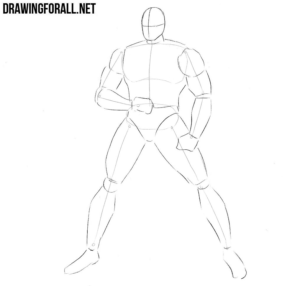 how to draw Warpath step by step