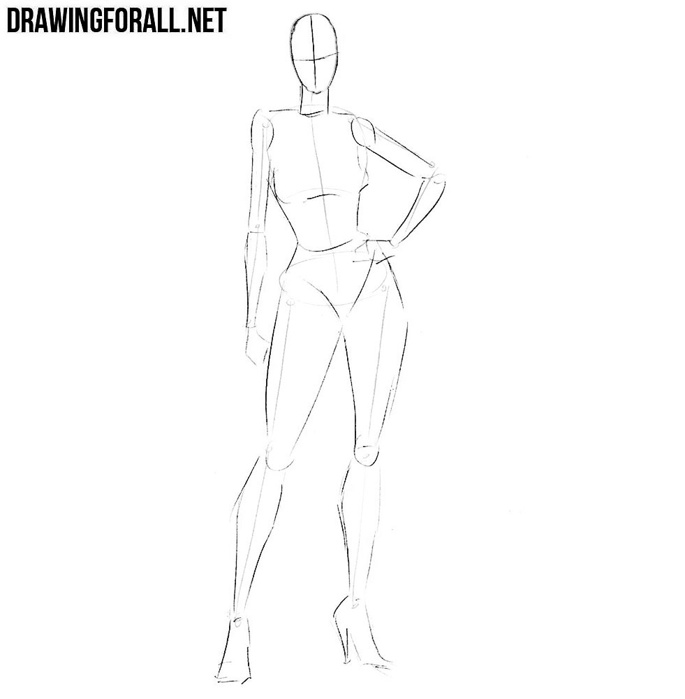 how to draw a girl superhero