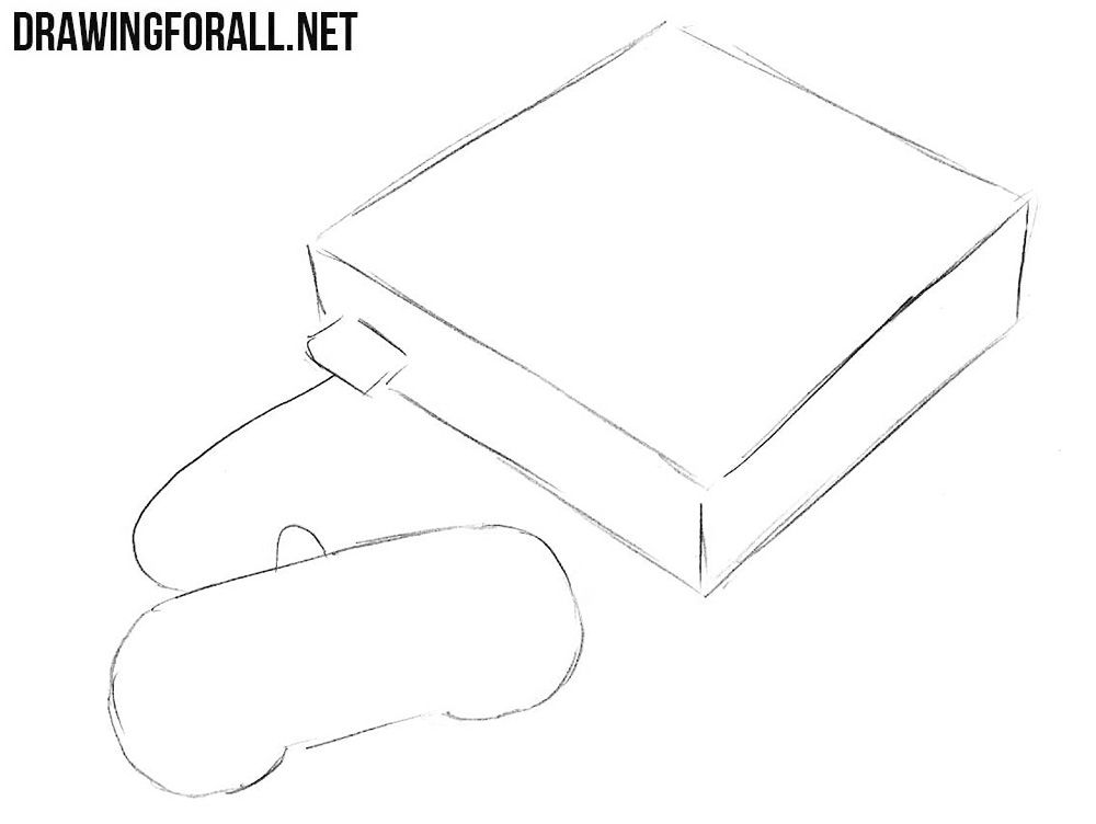 how to draw a snes