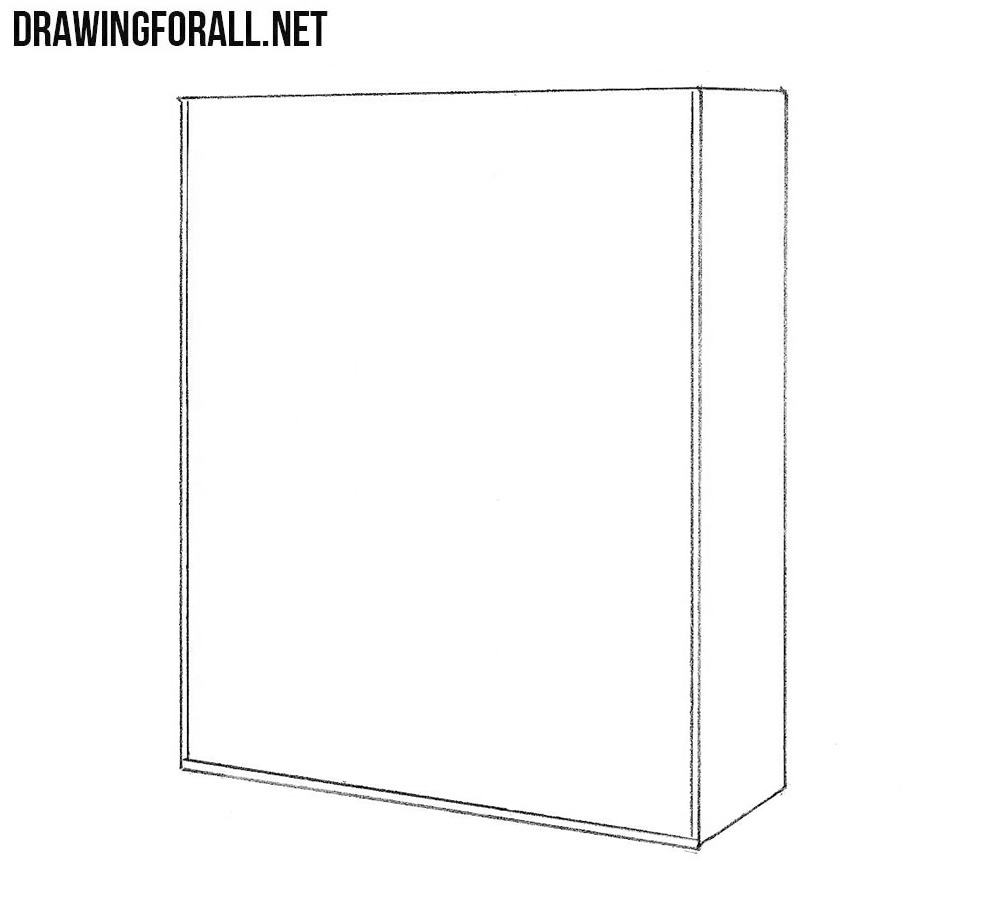 How to draw a Cupboard