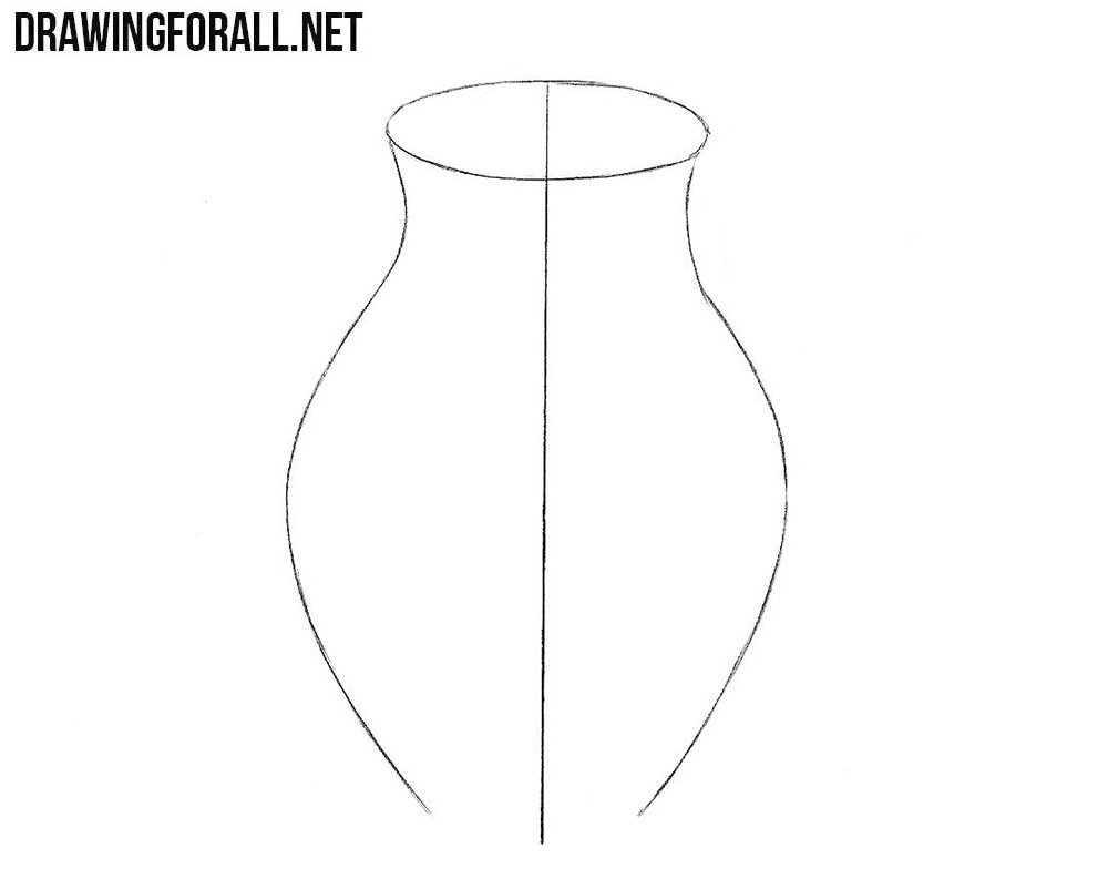 How to draw a jug with a pencil