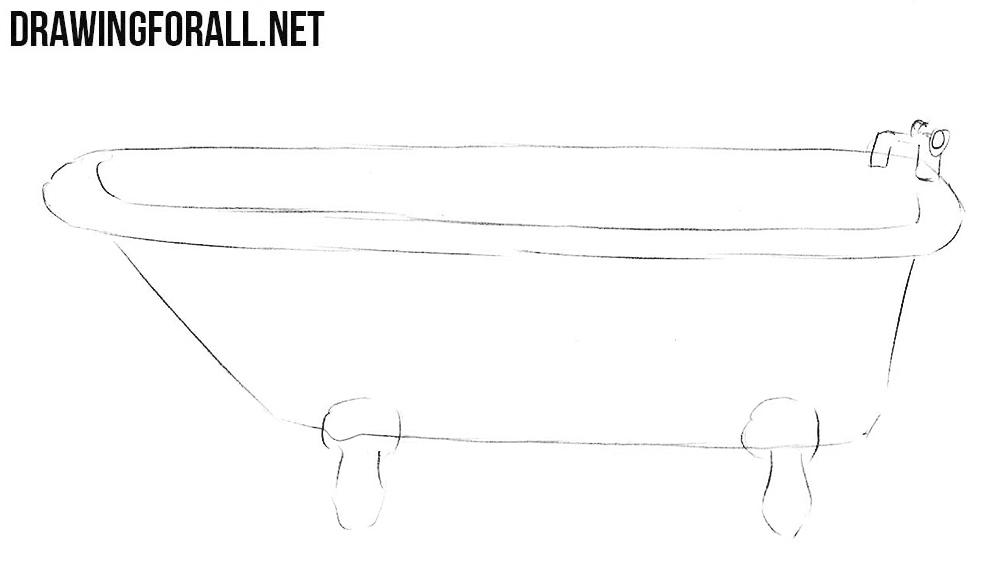 draw a bath