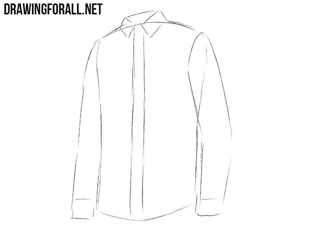 draw a shirt