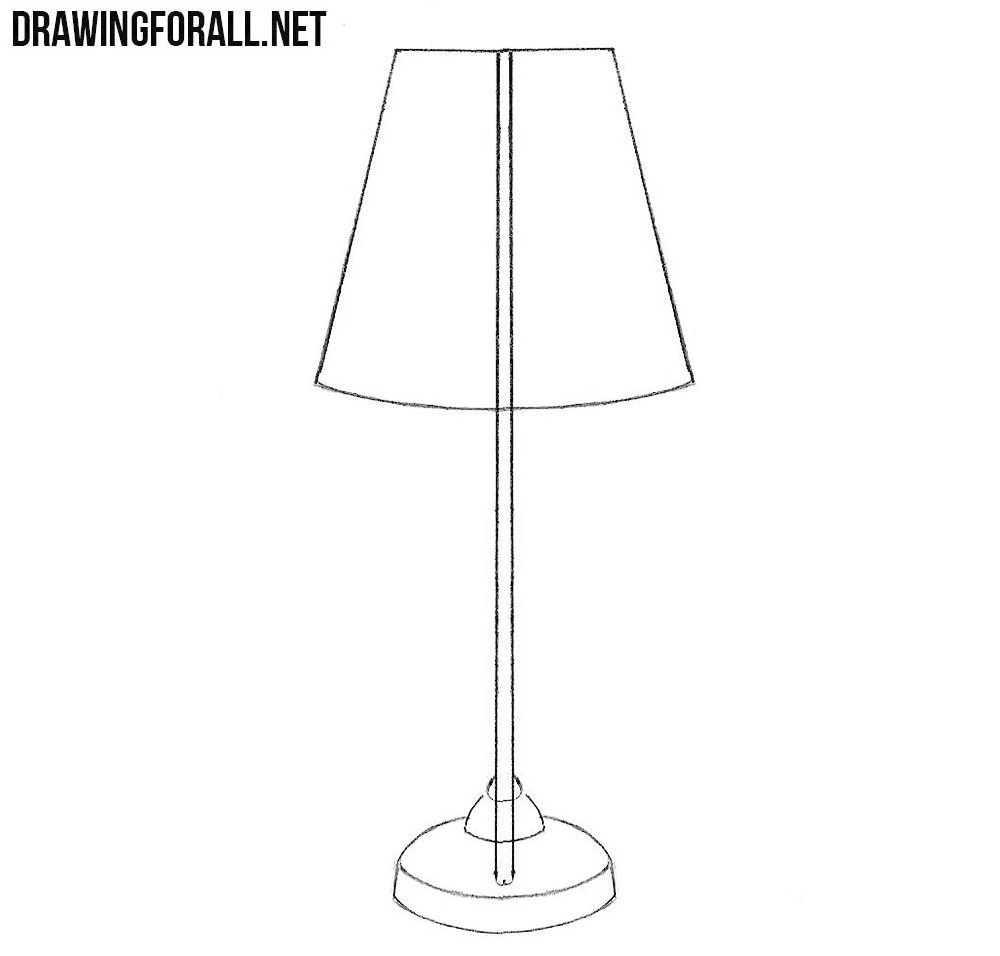 drawing table lamp