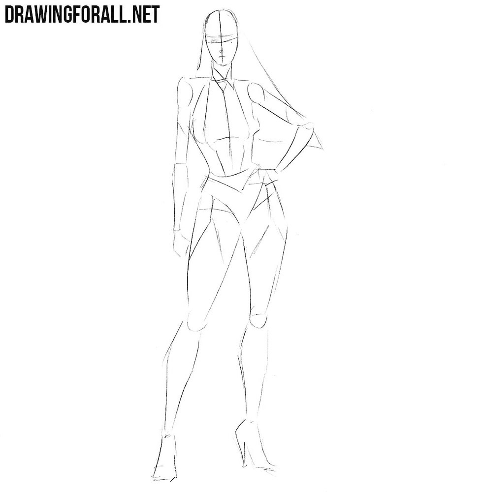 how to draw beautiful girl