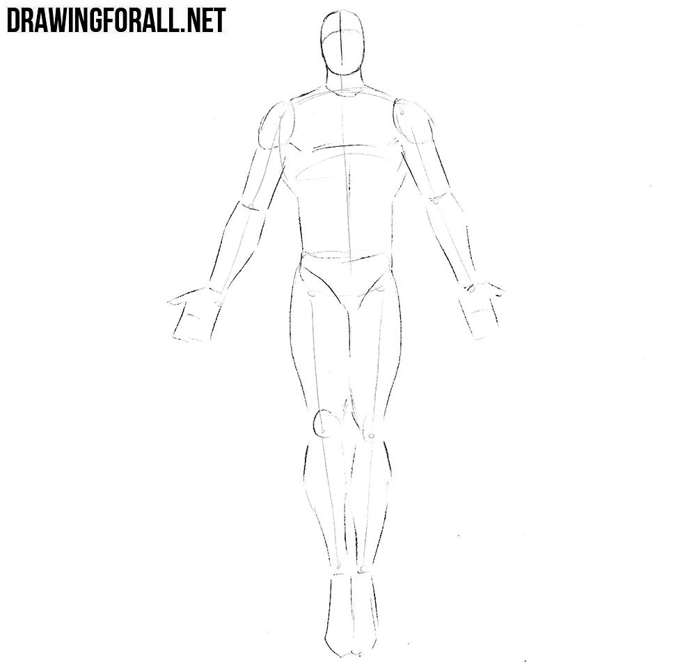how to draw dr manhattan