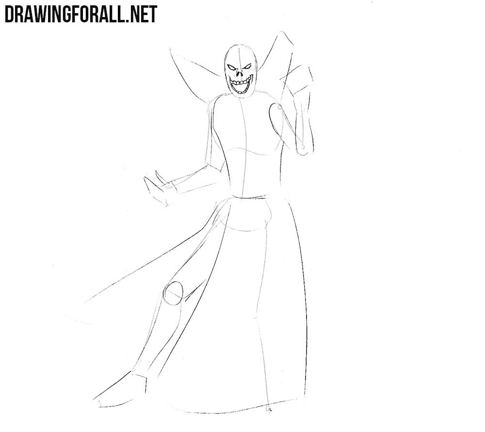 how to sketch a lich