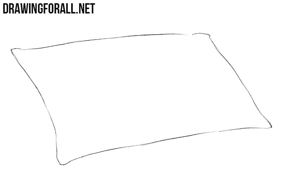 How to Draw a Pillow | Drawingforall.net