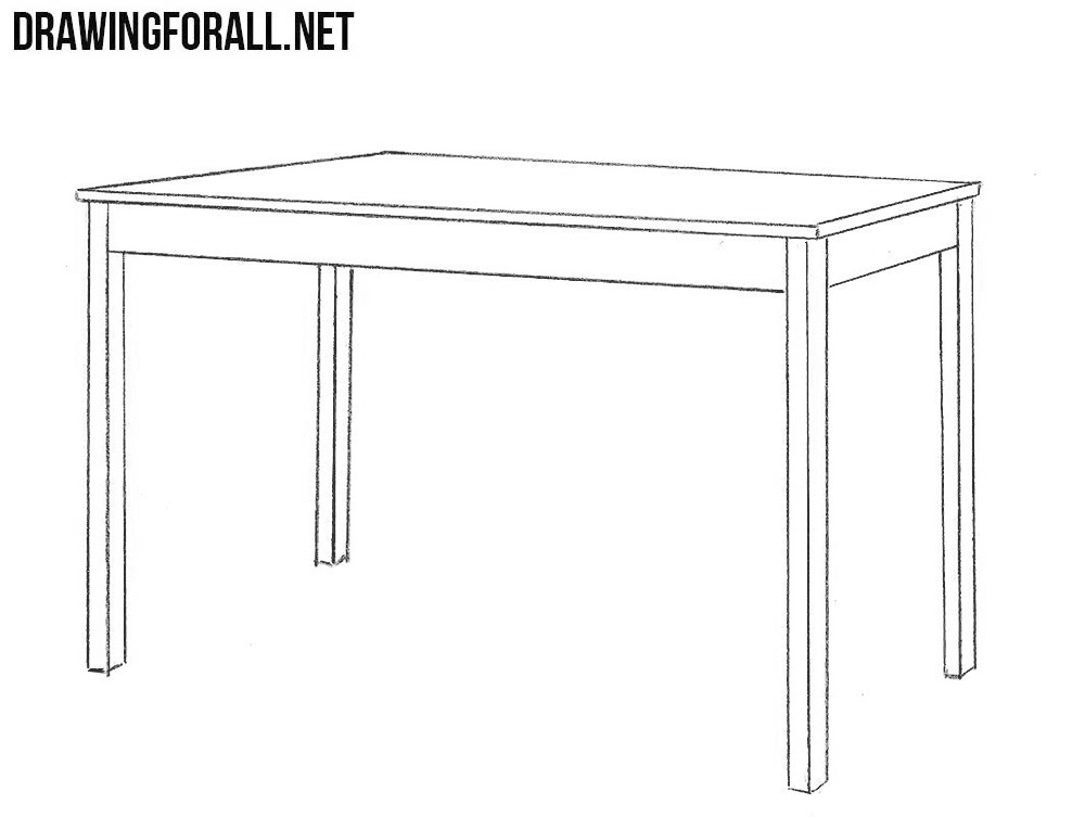 Learn To Draw A Table