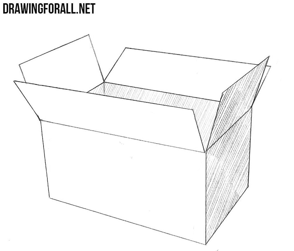 open box drawing