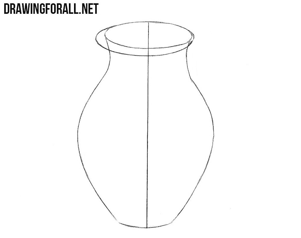 How to draw a jug easy