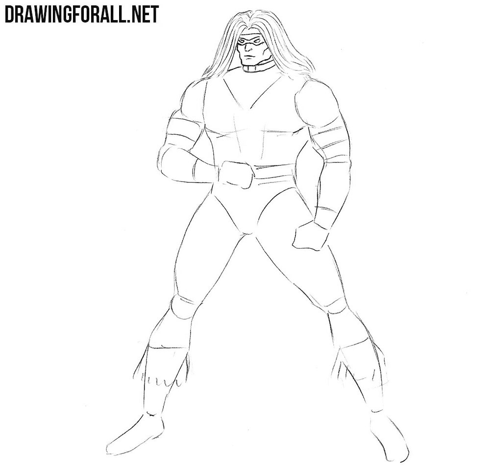 Warpath from x men sketch