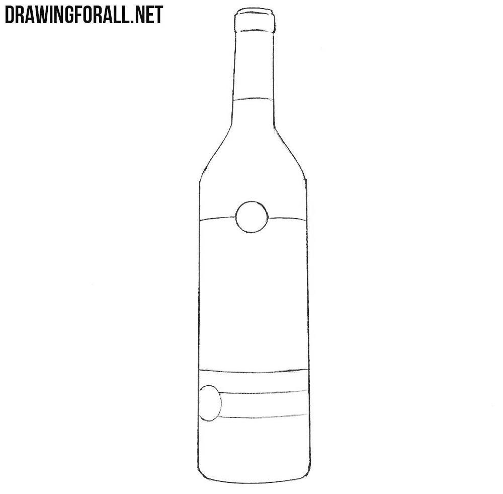 bottle drawing