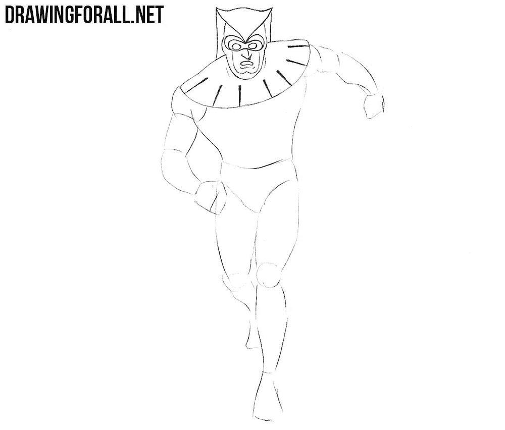 how to draw nite owl from comics