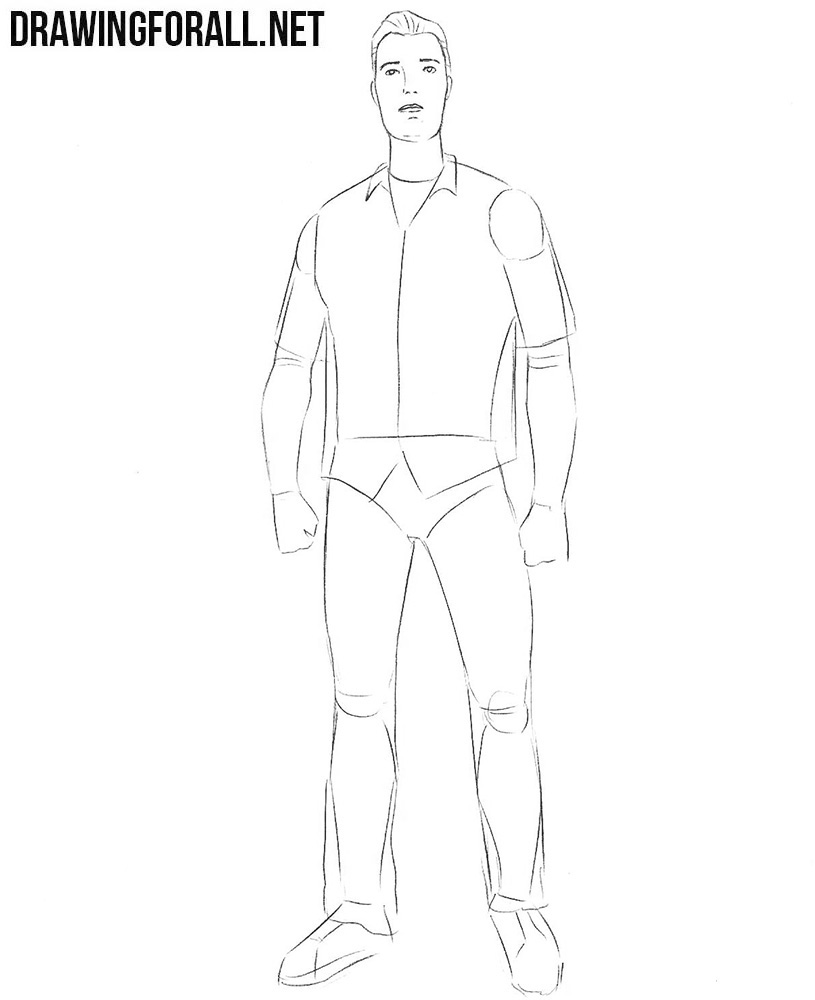 how to draw tommy vercetti from gta