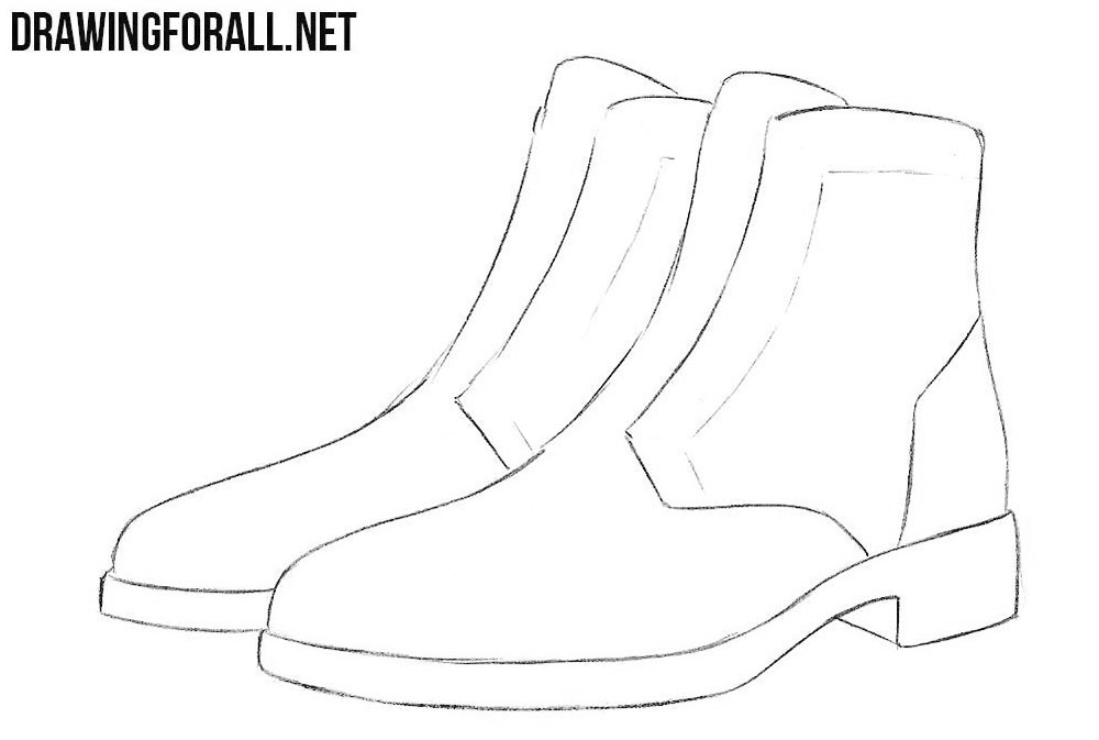 learn to draw boots