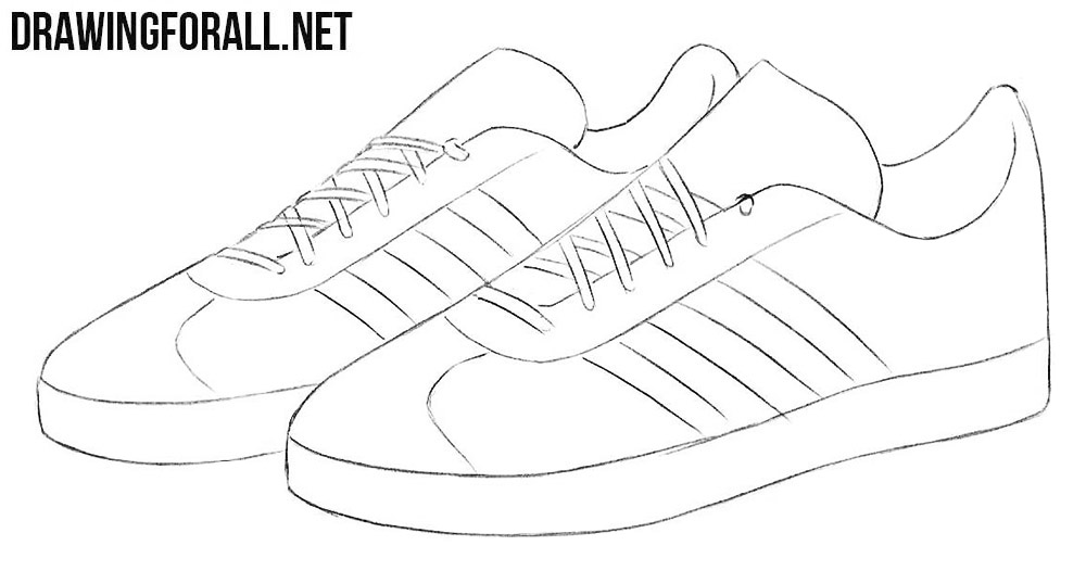 0dd44201bccc How to Draw Sneakers