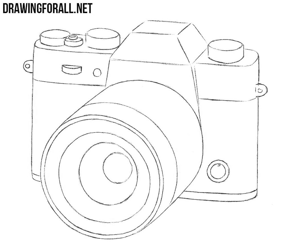 How To Draw A Camera Drawingforall Net