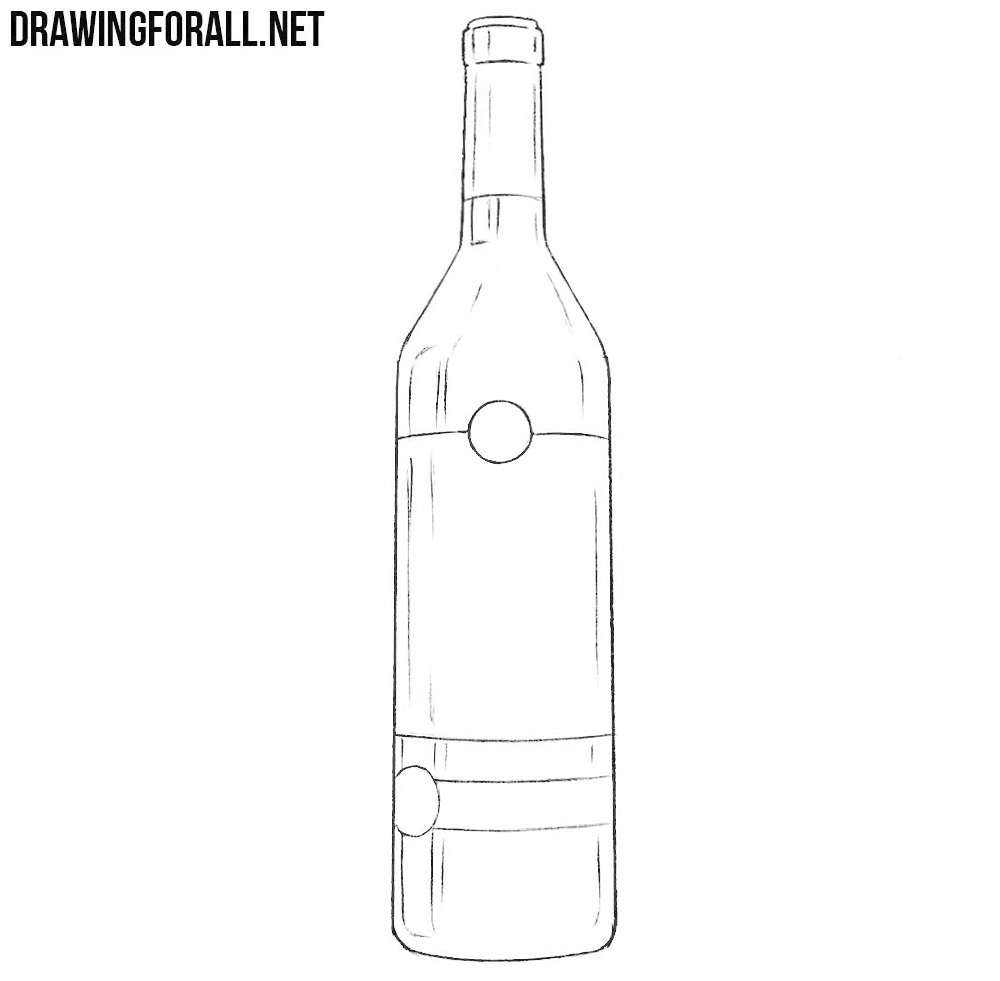how to draw a bottle drawingforall net