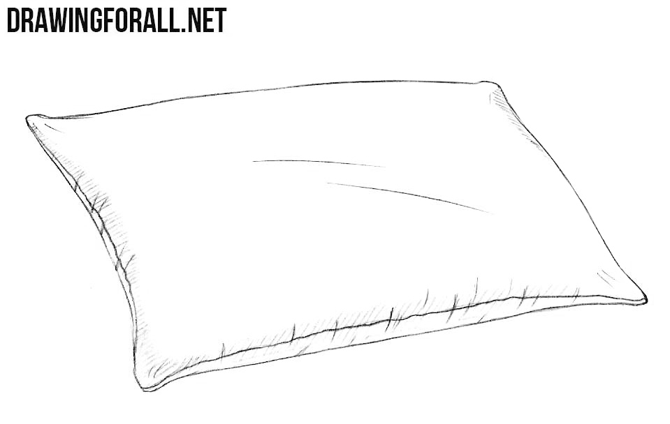 pillow-line-drawing