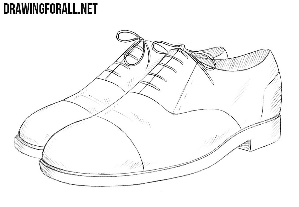 How To Draw A Shoes