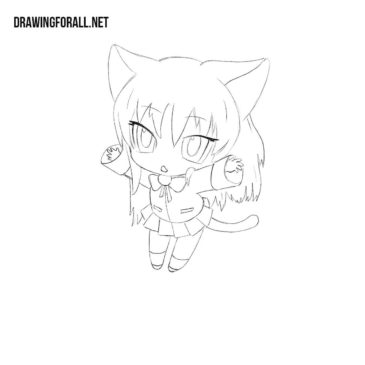 How to Draw a Neko Girl