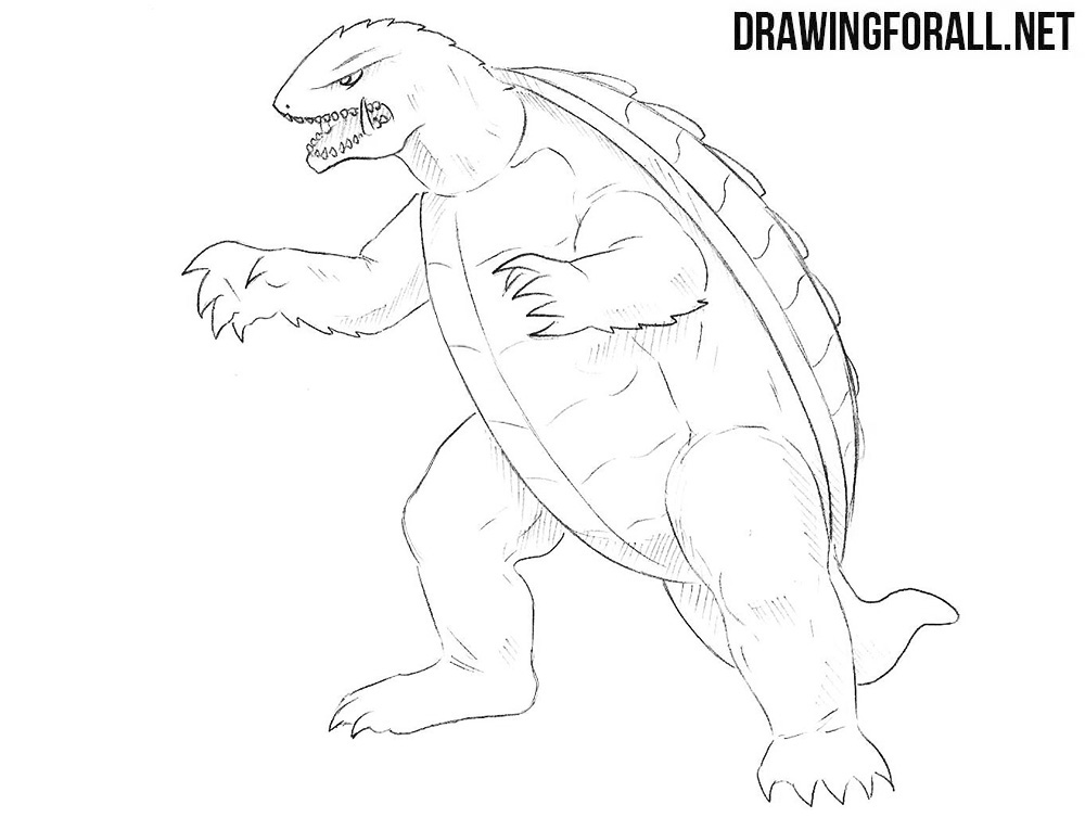 Gamera drawing
