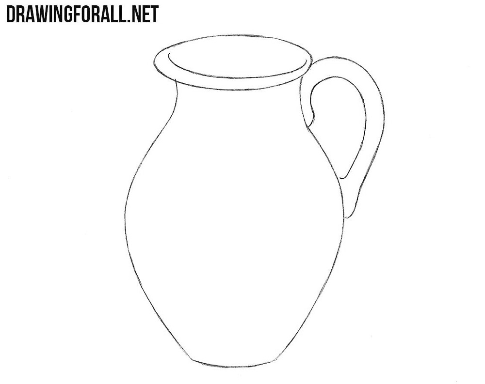 Jug drawing